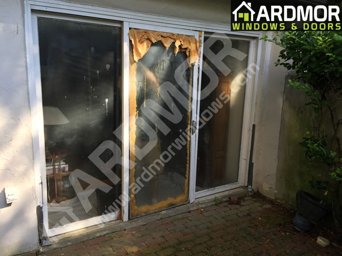 Andersen_3_Panel_Door_Installation_in_Denville_NJ_before