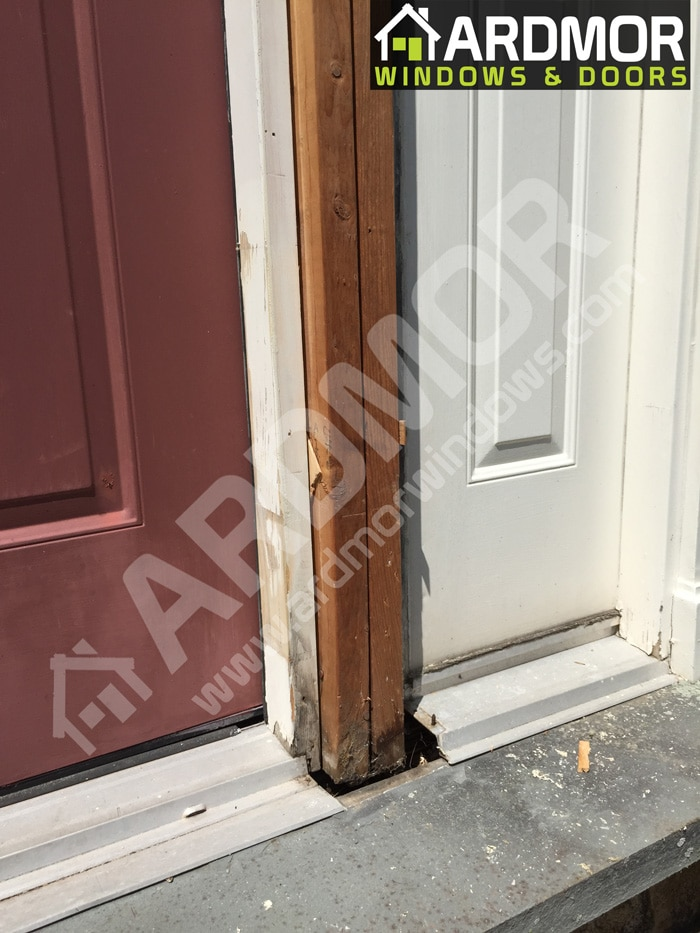 Door_Frame_Boards_Replacement_in_East_Brunswick_NJ_before