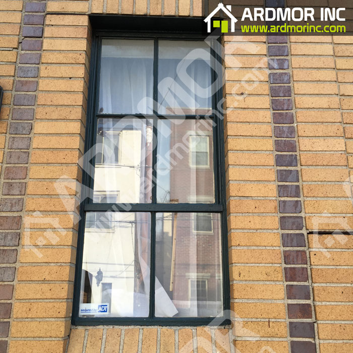 Double_Hung_Window_Install_with_PVC_Trim_in_Jackson_NJ_before